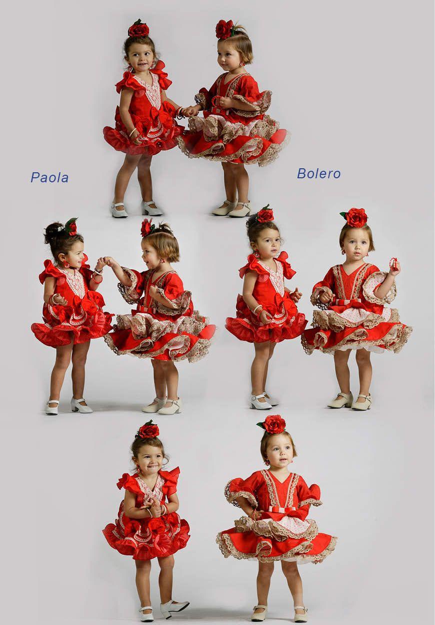 cd2ecbae2 Flamenca Niña | Creaciones Roal - Trajes de Flamenca - Artesanos ...