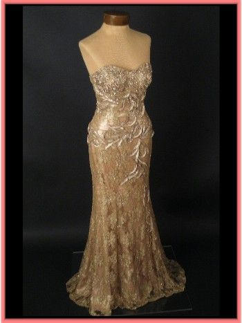 Ornament Tie The Knot In 2019 Gold Evening Gowns Evening