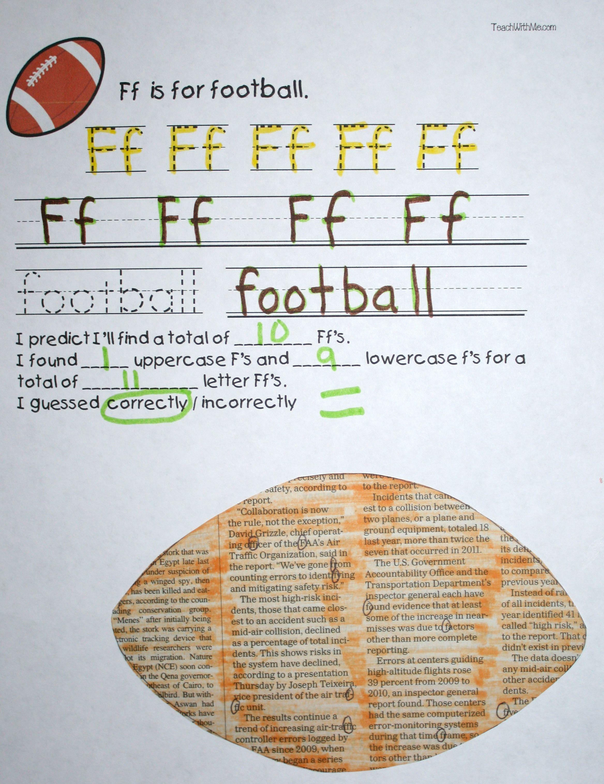 A Fall Search Amp Find Alphabet Craftivity