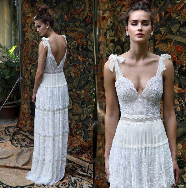 Discount Designer Wedding Gowns: Discount 2016 Lihi Hod Bridal Dresses Scarlet Romantic