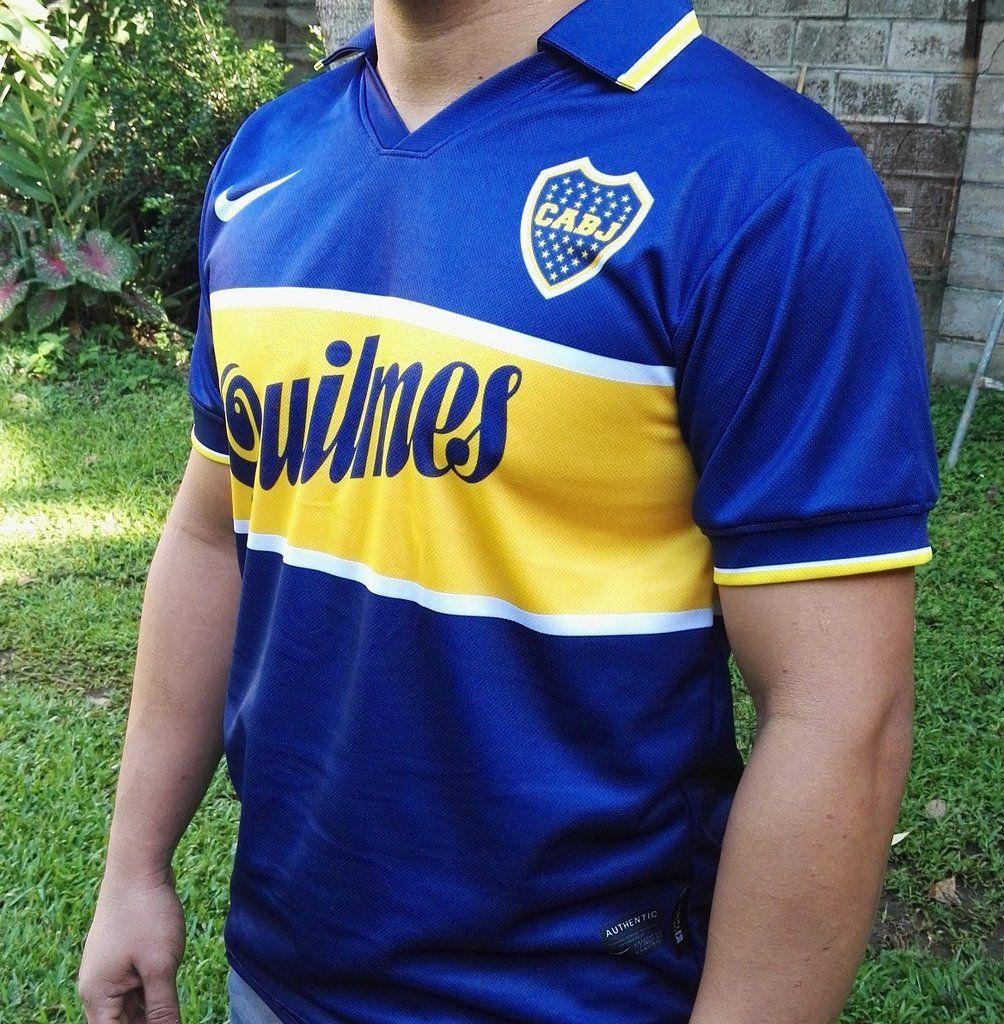 16de9bd047f ... cheap ca boca juniors maradona 10 mens retro soccer jersey 25 10 1997  replica 307e1 b505d ...