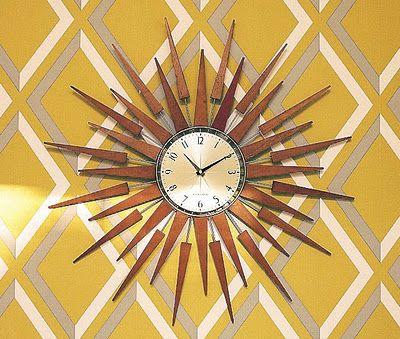Retro Clock Secret Design Studio Knows Mid Century Modern Architecture Secretdesignstudio