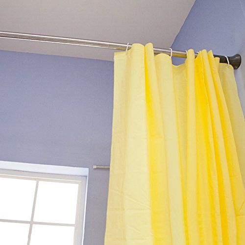 Byn Shower Curtain Tension Rod Rust Proof 56 To 94 Inch Click On