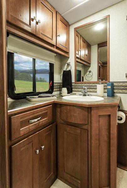 Sunova   Interior   Bedroom And Bathroom   Winnebago RVs