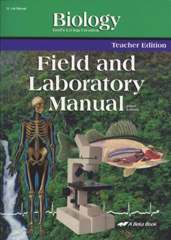 abeka field laboratory teacher s edition this book is a copy of rh pinterest com Biology Lab Manual Campbell Biology 9th Edition