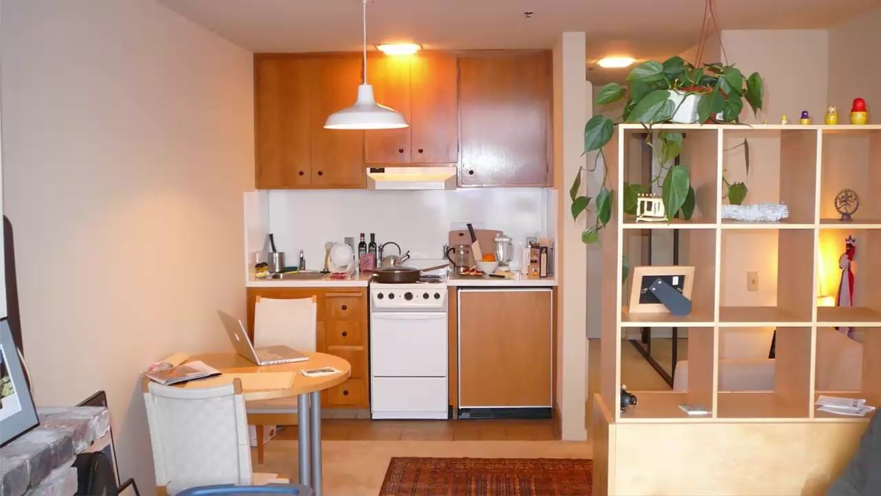 Small kitchen design for small house and apartment room design