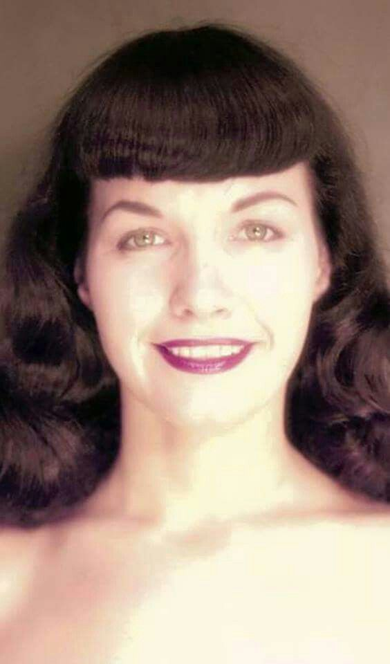 1336cd011b5 Nice Bettie Page headshot