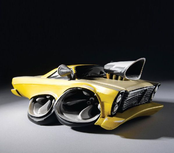Cool Car Gifts For Guys: Speed Freaks Car Figurines
