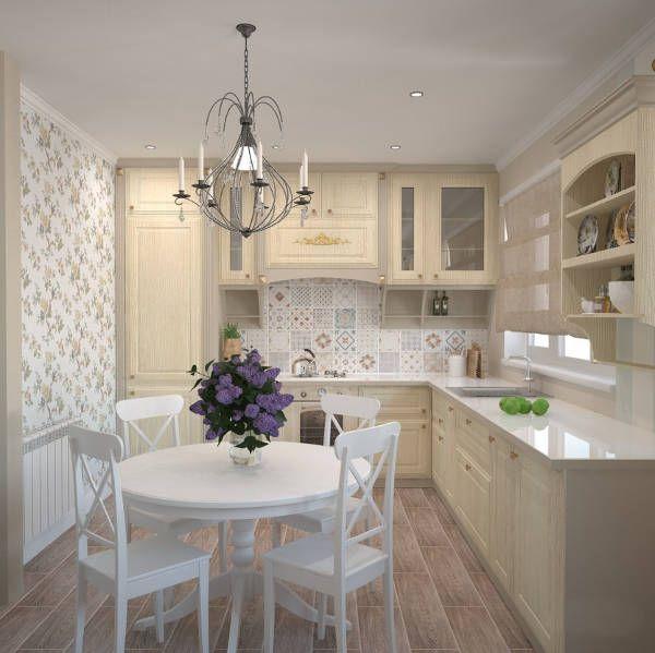 Simple Kitchens Open Kitchen Design Ideas Small Designs: дизайн маленькой кухни в стиле прованс