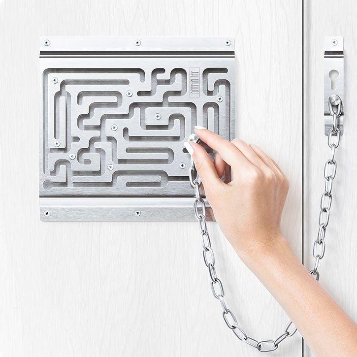 Defendius Labyrinth Security Lock Paul Kao Door Chains Door Locks Doors