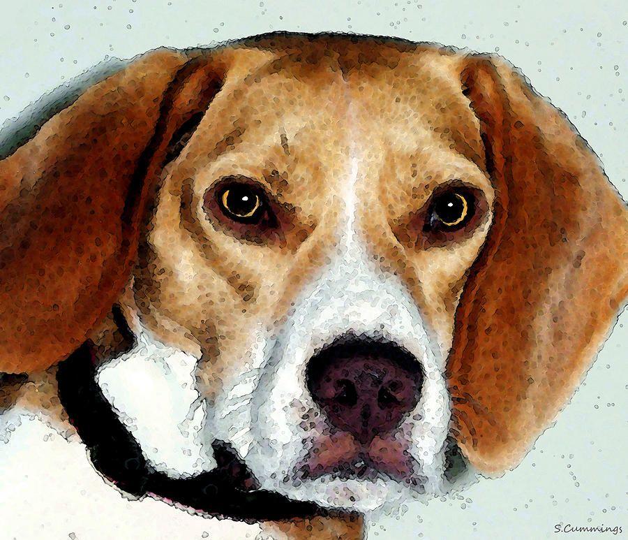 Beagle Art Eagle Boy Beagle Art Art Dog Art