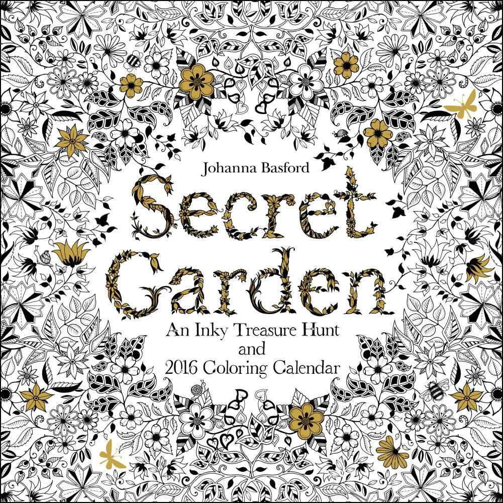 Adult Coloring Secret Garden