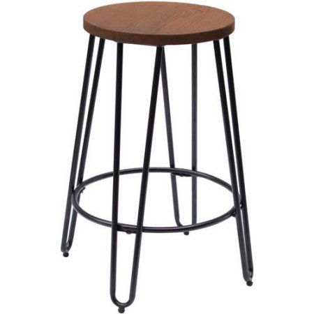 Fine Quinn Round Wood Top Backless Barstool Set Of 2 Products Camellatalisay Diy Chair Ideas Camellatalisaycom