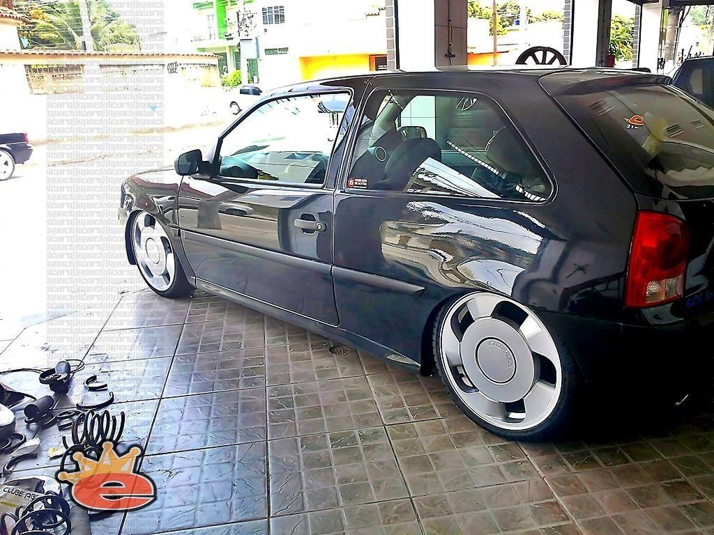 Gol G4 Cinza Rebaixado Aro 18 Carro Baixo Volkswagen Cars E