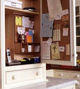 Message Center Cabinet