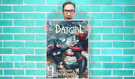 Batgirl batwoman dc comic art work wall art by geeksleeksheek batgirl batwoman dc comic art work wall art by geeksleeksheek 1800 urtaz Image collections