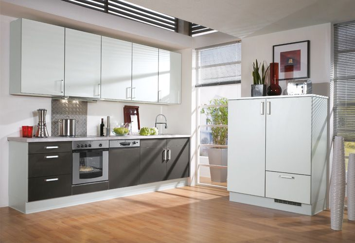 Küche in Anthrazit #Küchenzeile wwwdyk360-kuechende Küchen in - modern küche design
