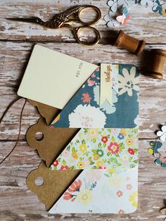 Todo lo que necesitas para scrapbooking y manualidades está en mitiendadearte.com con sólo 1,95€ de gastos de envío. Card Holder Tag & Gift Wrap using by Brittany Sazonoff using her Silhouette Cameo