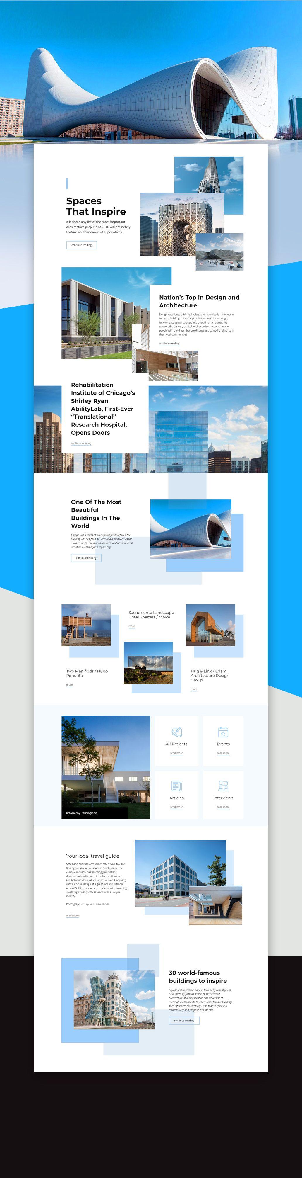 Free Template By Nicepage Builder Interior Design Website Mobile Web Design Inspiration