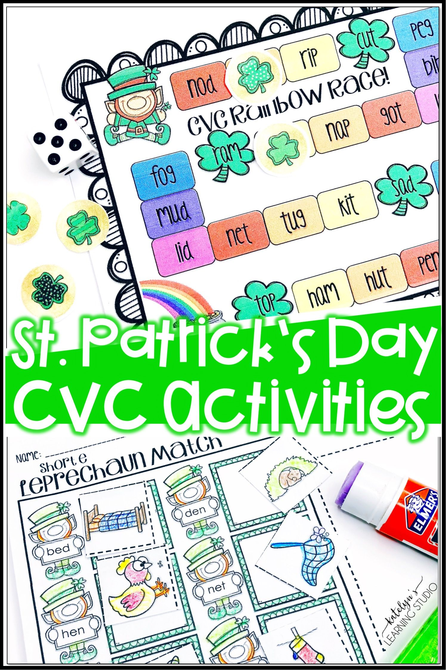St Patricks Day Cvc