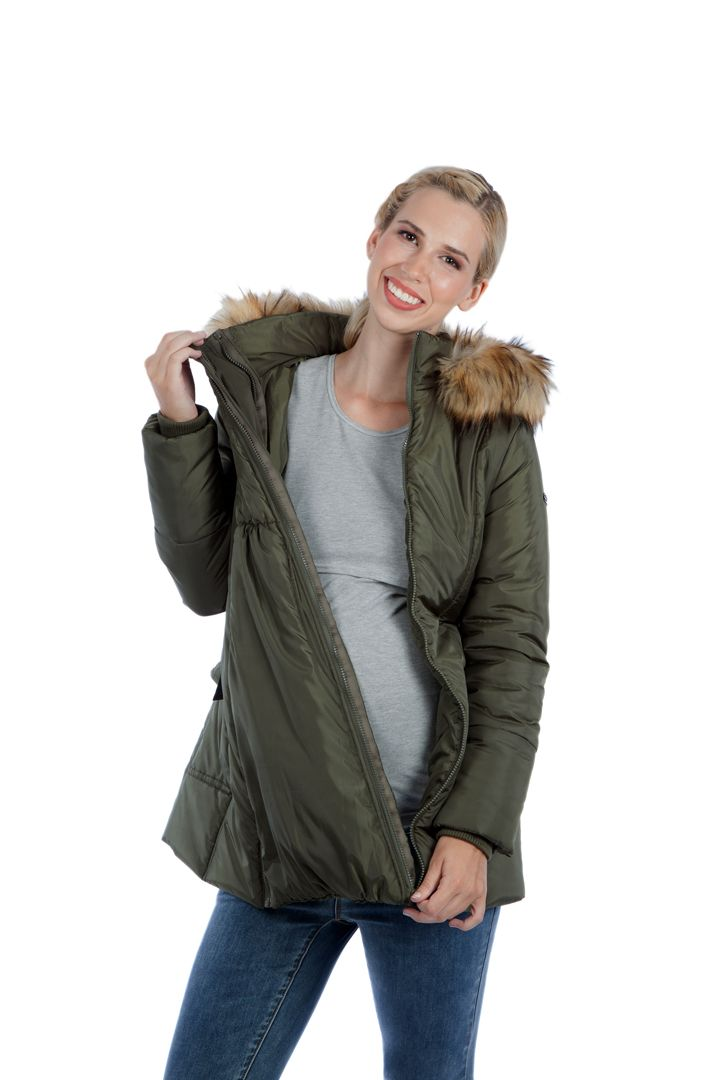 Womens Maternity Padded Jacket Simply Be