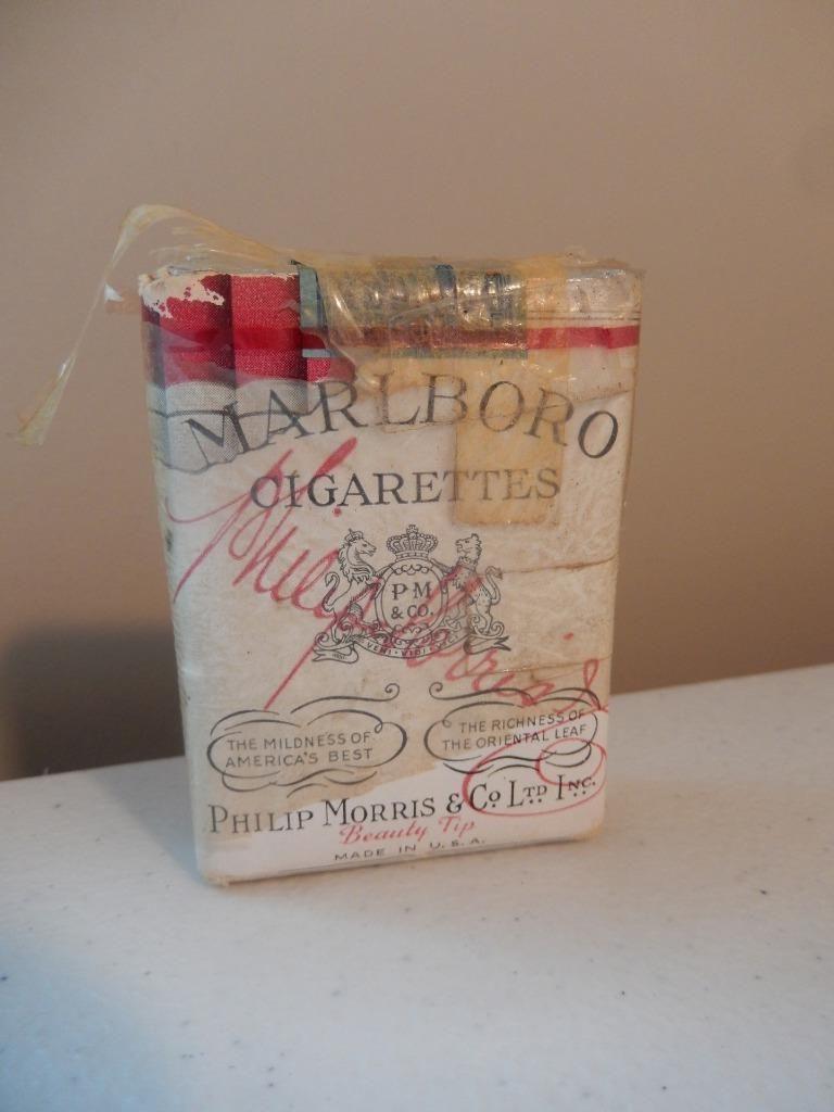 2b7a2bf5aa Vintage 1940 Marlboro Cigarettes Unopened, Sealed EXTREMELY RARE (Free  Shipping) | eBay