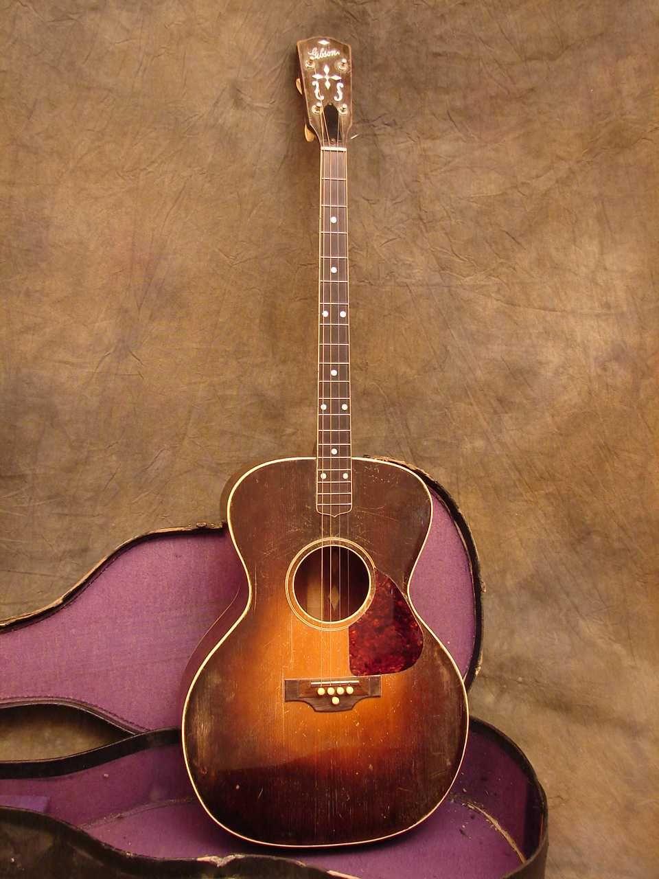 1929 Gibson Tg 1 Tenor Acoustic Guitar Guitar Acoustic Guitar Music Vintage Guitars