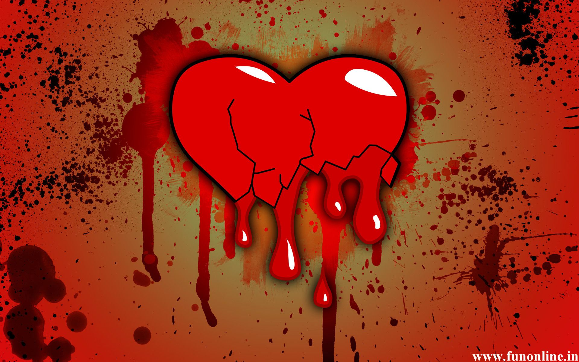 Broken Heart Quotes Wallpapers HD Backgrounds Images Pics 1920x1200 Pic 48