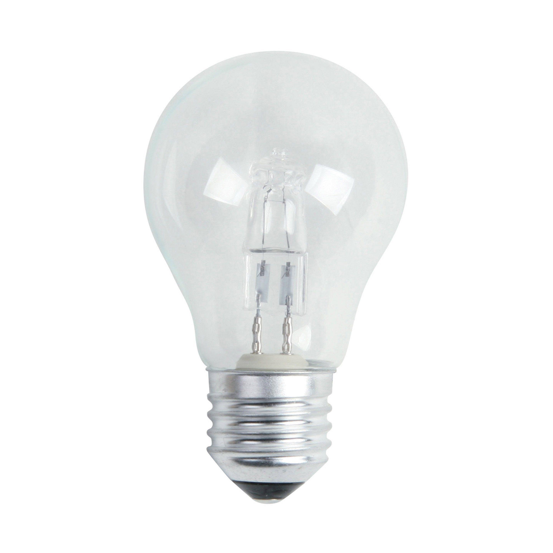 Ampoule Standard Halogène 30w 405lm équiv 40w E27 2700k