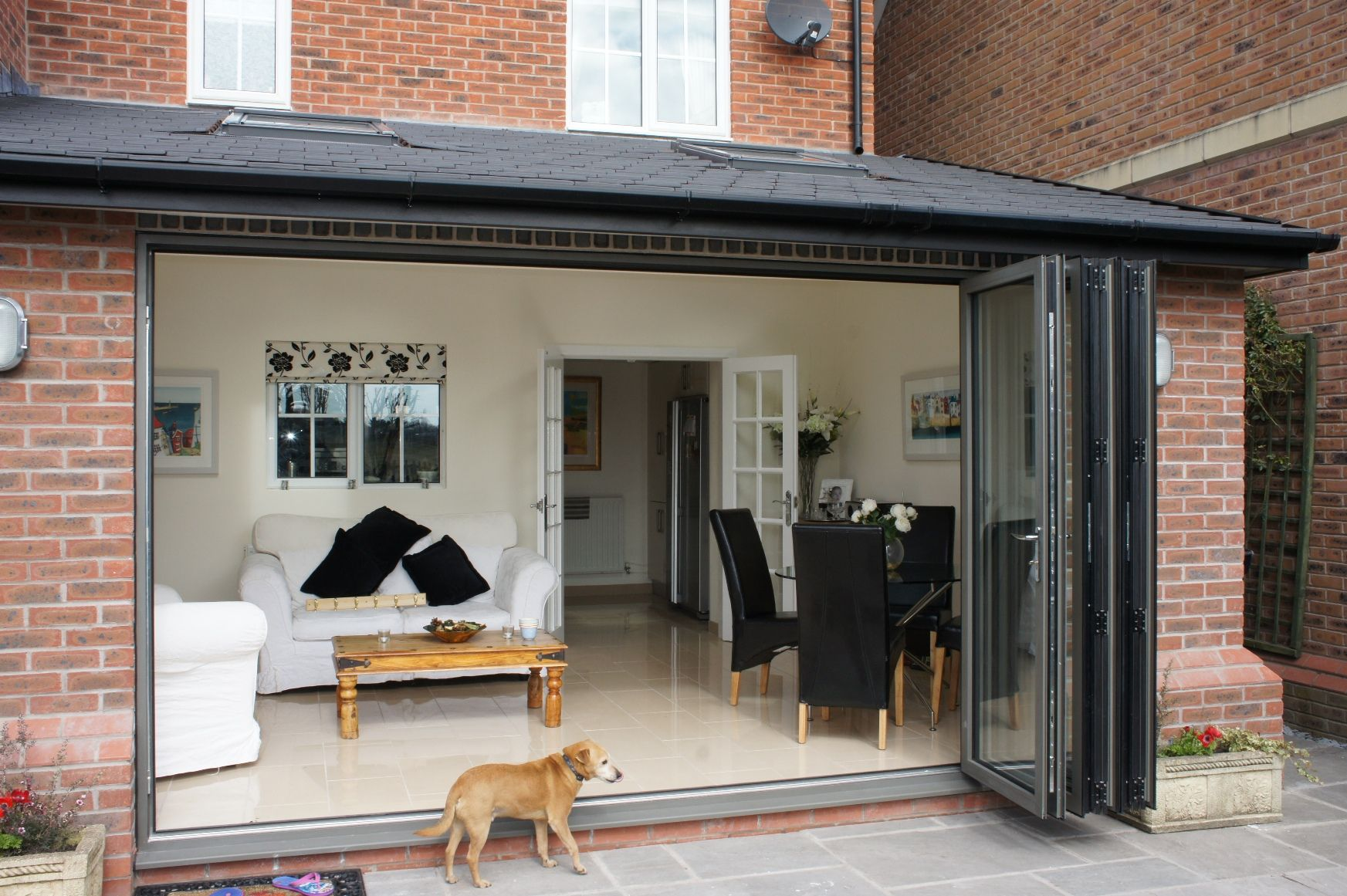 Mirrored Bifold Doors Google Search Garage Kitchen