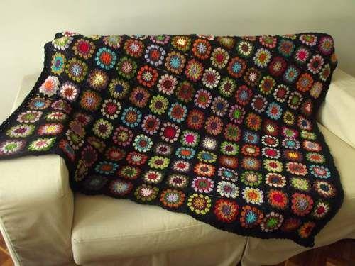 Manta de crochê para sofá: 30 ideias para renovar ...