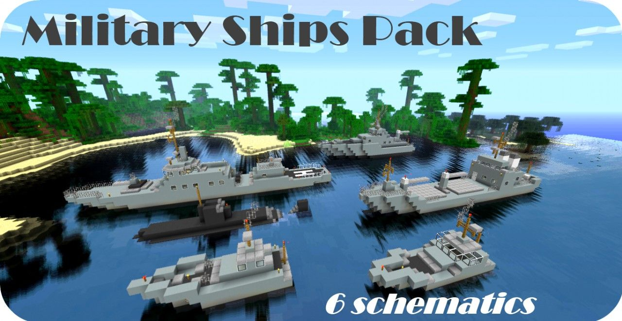 minecraft miletery | military ships pack 6 schematics submarine 19 on small minecraft ship plans, small minecraft yacht tutorial, small minecraft village, small boats mod minecraft,