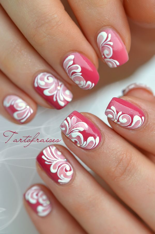 Do this design on one or all and then a raised white acrylic bow on one or two