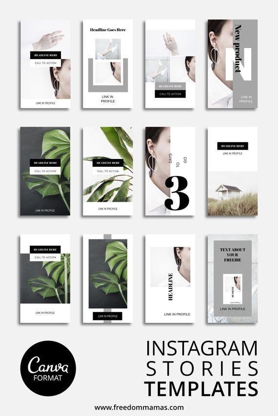 Photo of Instagram Story Templates, 12 Social Media Templates, Instagram Stories Templates, Photography Brand