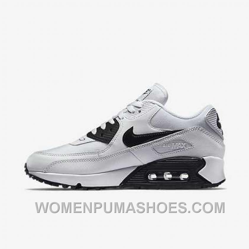http://www.womenpumashoes.com/nike-air-max-90-womens-white-black-top-deals-e6bie.html NIKE AIR MAX 90 WOMENS WHITE BLACK TOP DEALS E6BIE Only $74.00 , Free Shipping!