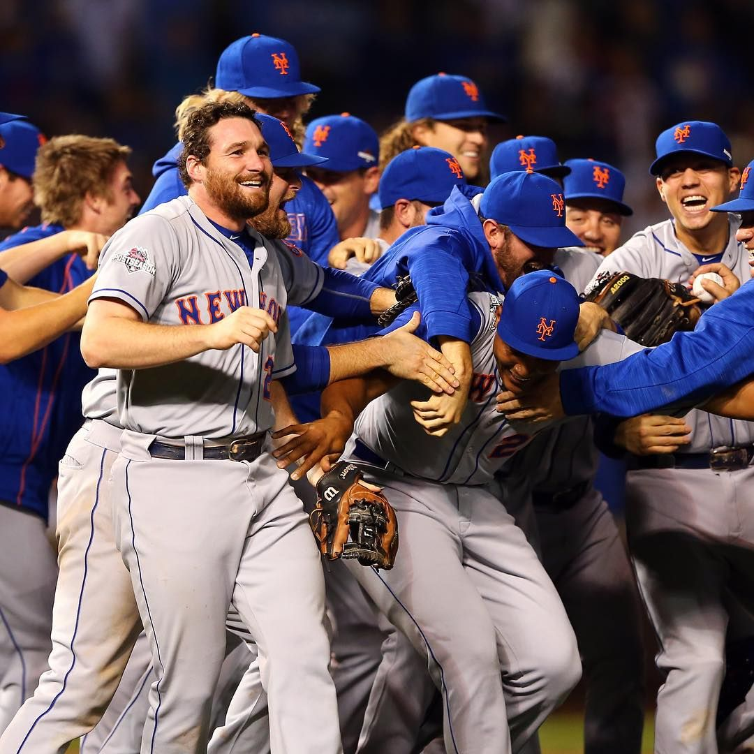 That moment when you punch your ticket to the World Series