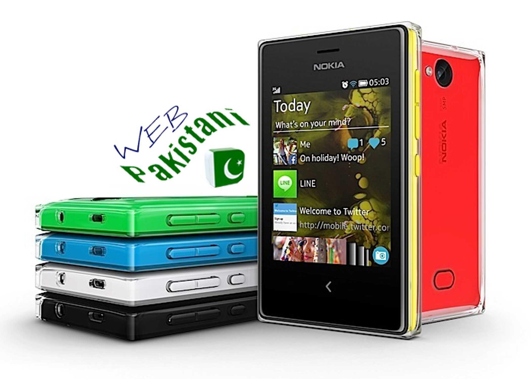 Nokia Asha 500 Phone Price in New Delhi, Mumbai, India