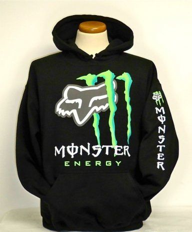Fox Racing Monster Energy Hoodies Wow Com Image Results Fox Clothing Fox Racing Clothing Cool Hoodies