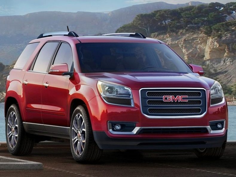 2008 Gmc Acadia Tire Size With Images Car Car Lease
