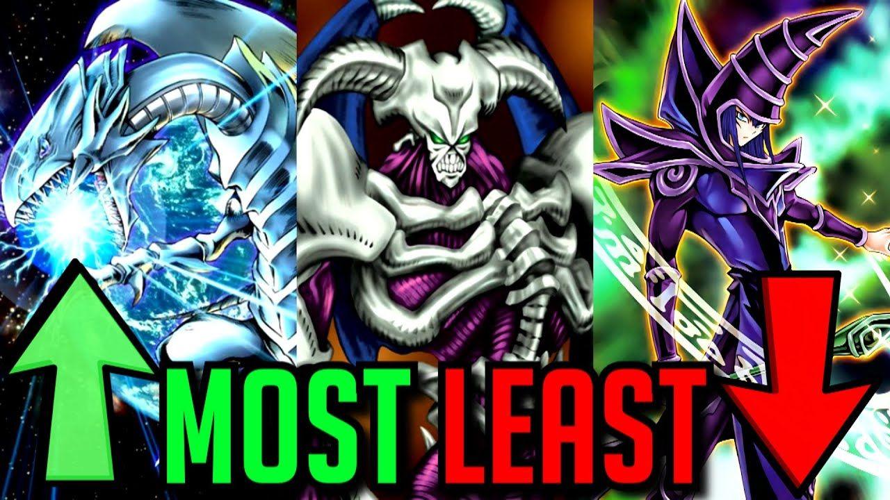 Mostleast popular types of yugioh monsters in 2020