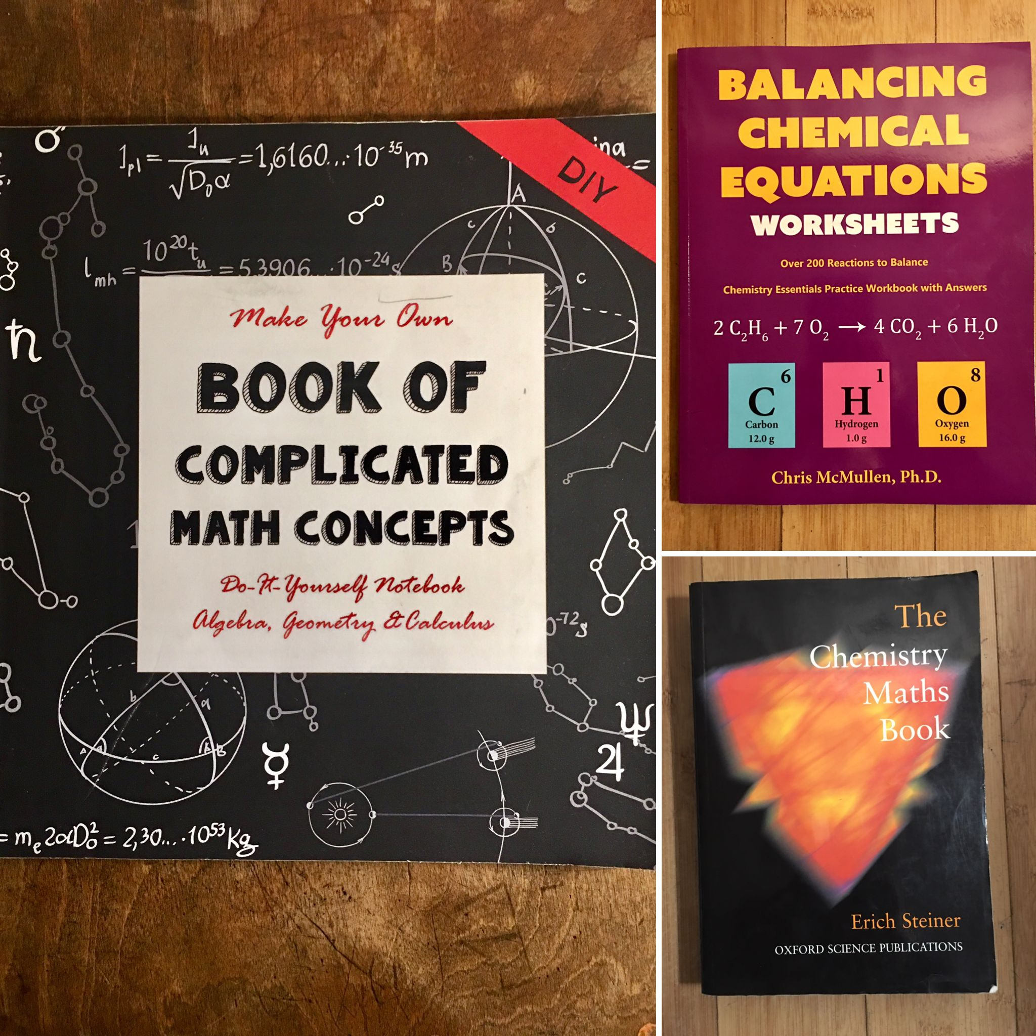 Book Of Complicated Math Concepts Thethinkingtree