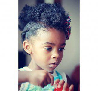 Coiffure afro enfant faites le plein d'idées pour ses