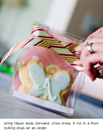 Diy cute cookie packaging