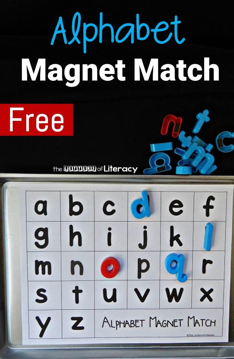 Alphabet match alphabet preschool alphabet