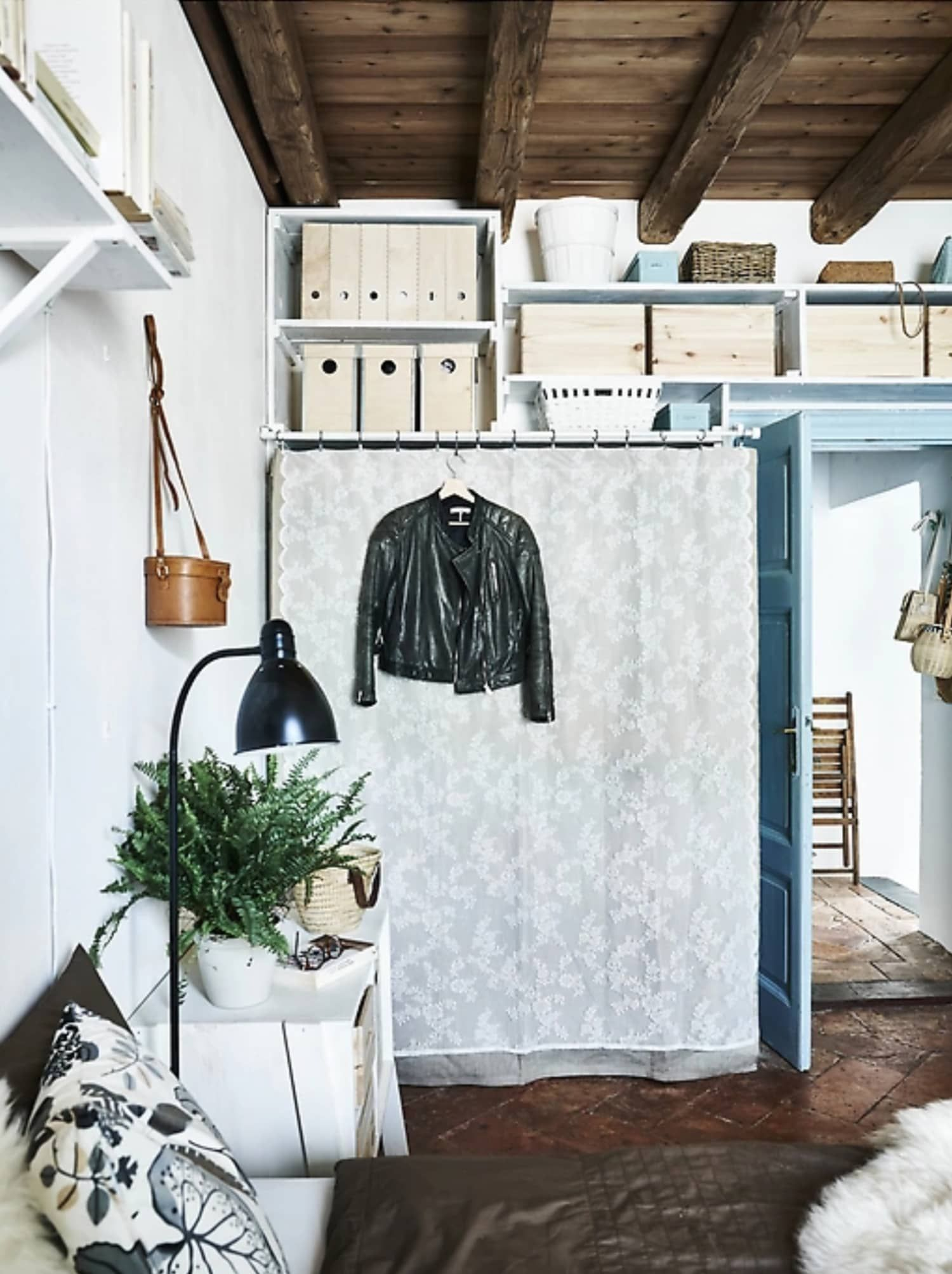 12 Clever Small Space Ideas To Steal From Ikea Ikea Small Spaces Small Bedroom Storage Ikea Small Apartment