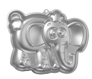 Baking Supplies - Elephant shaped kids cake pan. $11.33 - see a decorated verison under Kids Cakes