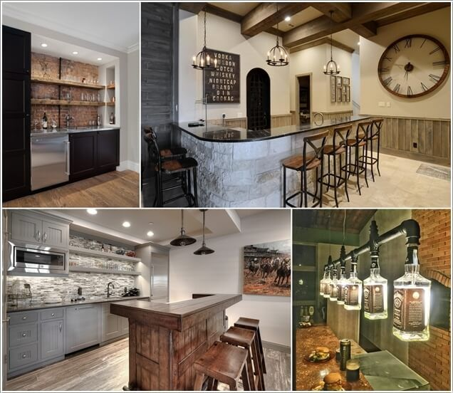 10 Cool And Creative Home Bar Lighting Ideas Bar Lighting Home Home Bar Designs