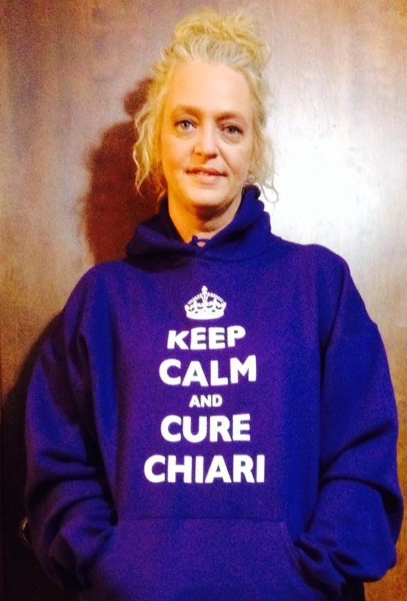 Keep Calm & Cure Chiari Hoodie