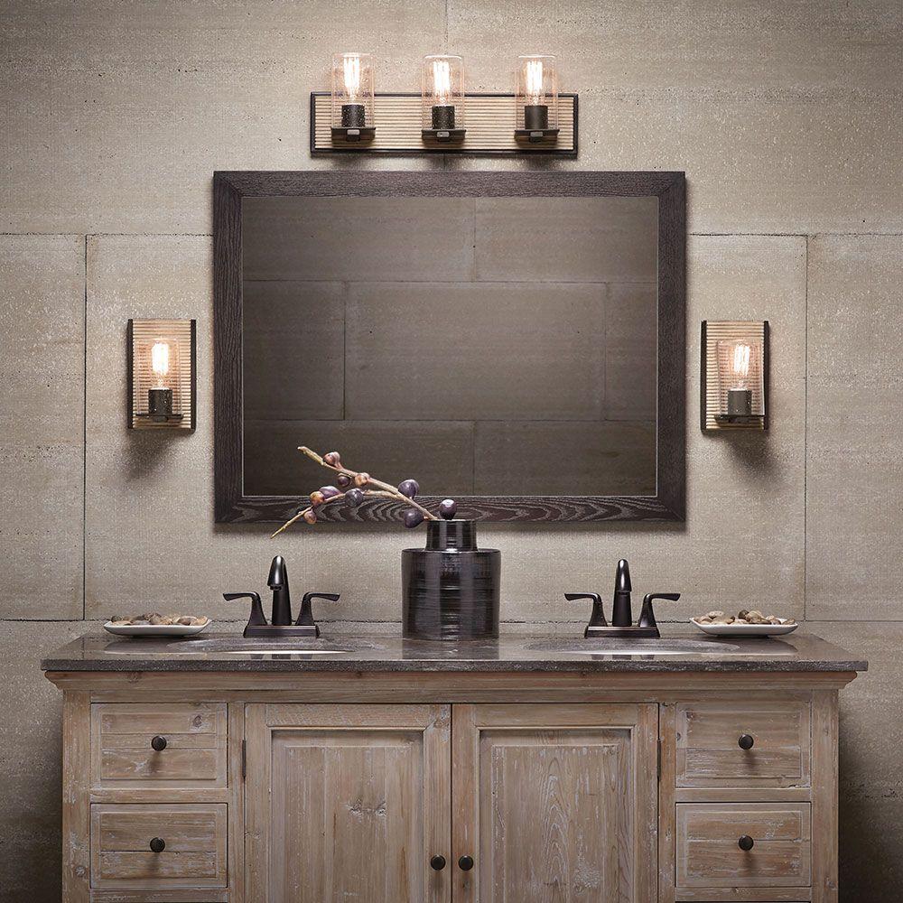 Millwright 45544dag bathroom kichler sq bathroom lighting concepts bathroom light fixtures arubaitofo Images