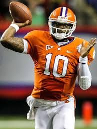 Clemson quarterback Deshaun Watson has a sprained LCL and a bone bruise, the school announced Sunday, but the freshman quarterback could return to action for the season finale against South Carolina in two weeks.